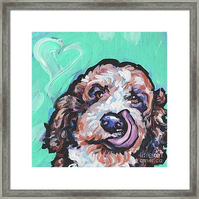 Lickety Doodle Framed Print by Lea
