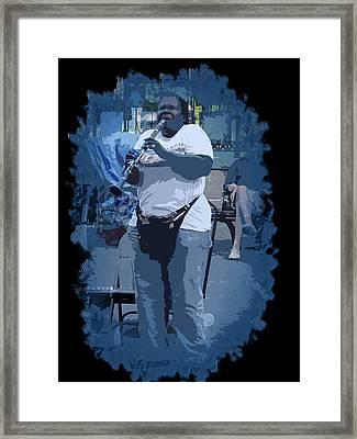 Licorice Stick Soul Framed Print by Linda Kish