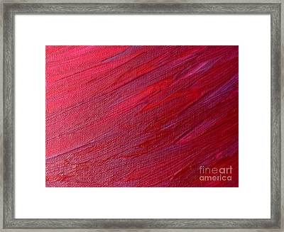Licorice Weave Framed Print by Shelly Wiseberg