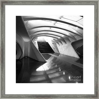 Liege Guillemins Train Station Framed Print