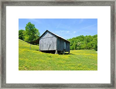 Lieper's Fork Cabin Framed Print by Jan Amiss Photography