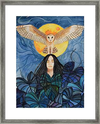 Life After Death Framed Print by Kimberly Kirk