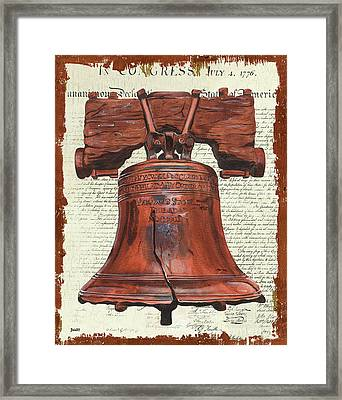 Life And Liberty Framed Print by Debbie DeWitt