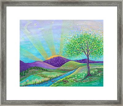 Love And Life Framed Print by Tanielle Childers