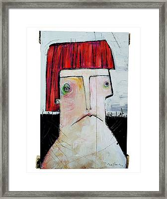 Life As Human Number Seven Framed Print