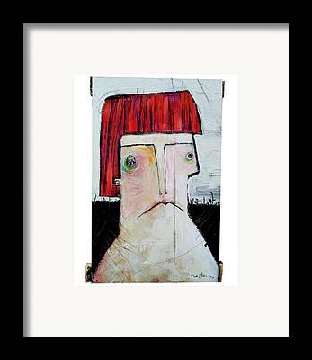 Surrealist Painter Framed Prints