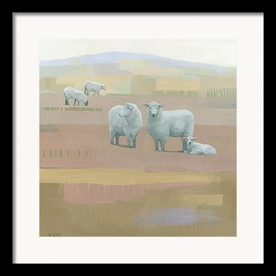 Wildlife Abstracts Framed Prints