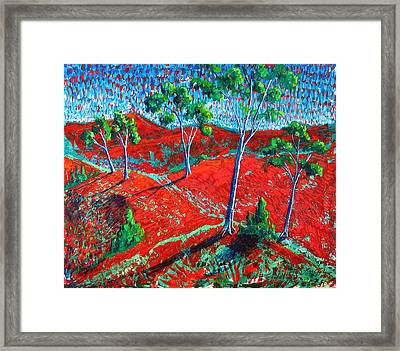 Life Carries On Framed Print by Rollin Kocsis
