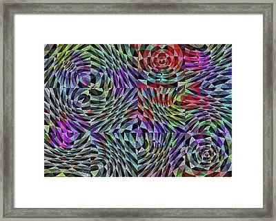 Framed Print featuring the digital art Life Currents by Mimulux patricia no No