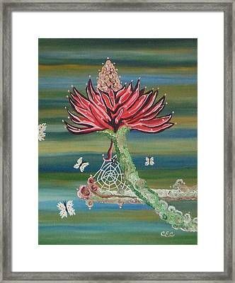 Life Cycles Framed Print by Carolyn Cable