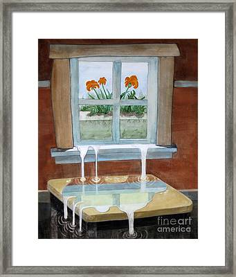 Life Enters Framed Print by Will Lewis