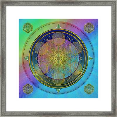 Life Flower Framed Print
