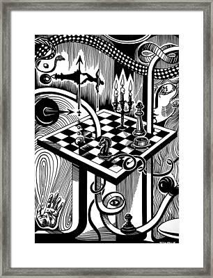 Life Game Framed Print by Inga Vereshchagina