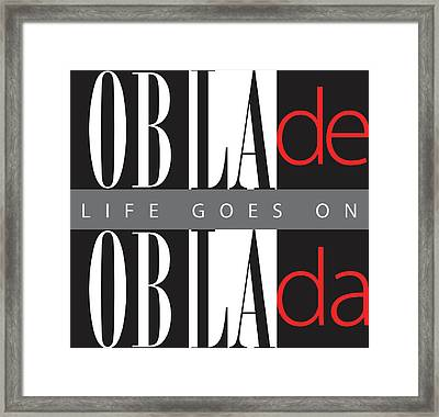 Life Goes On Framed Print by Stephen Anderson
