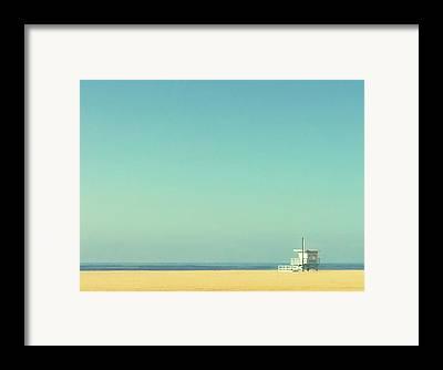 Santa Monica Framed Prints
