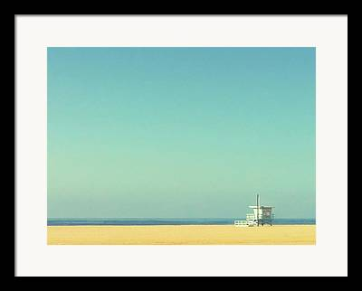 Santa Monica Framed Prints
