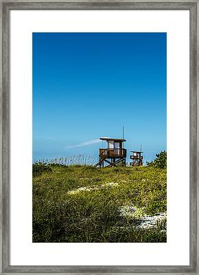 Life Guards Framed Print by Marvin Spates