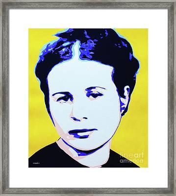 Life In A Jar. Irena Sendler Framed Print