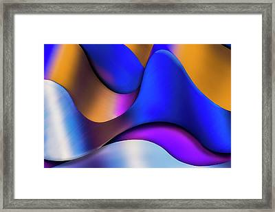 Framed Print featuring the photograph Life In Color by Paul Wear
