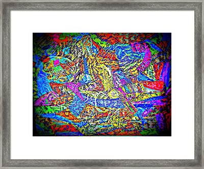 Life In Colors Framed Print