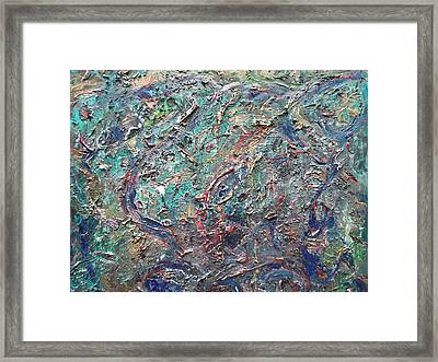Life In Colours Framed Print by Rivka Waas