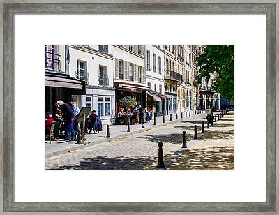 Life In Paris Framed Print by Pati Photography