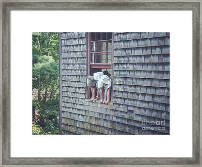 Life In The 1830's-2 Framed Print by Claudia M Photography
