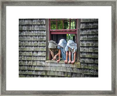 Life In The 1830's Framed Print