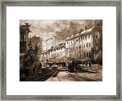 Life In The City Framed Print