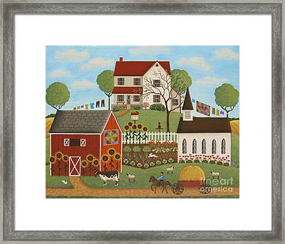 Life In The Country Framed Print