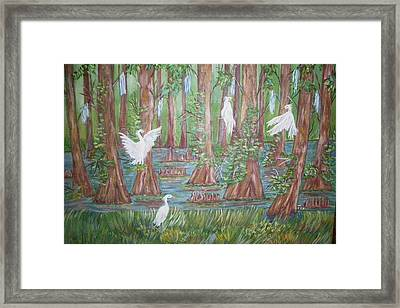 Life In The Delta Framed Print