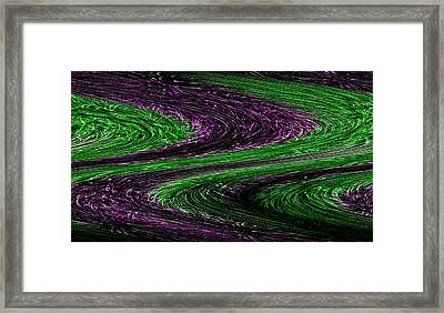 Life In The Fast Lane Framed Print by Evelyn Patrick