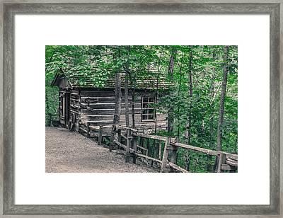 Framed Print featuring the photograph Life In The Ozarks by Annette Hugen
