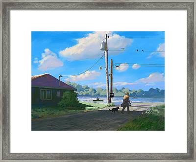 Life In The Slow Lane Framed Print