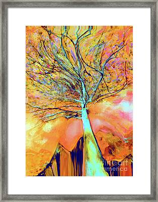 Life In The Trees Framed Print