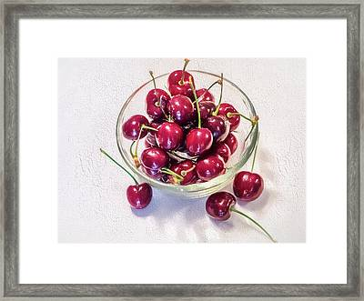 Life Is A Bowl Of Framed Print