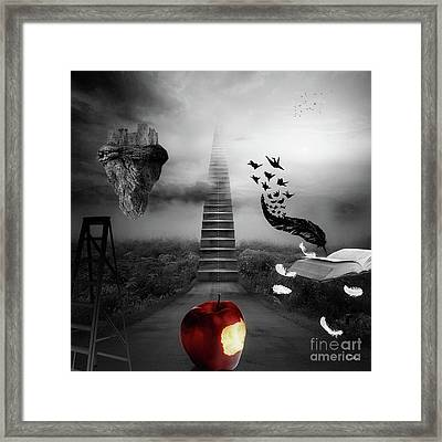 Life Is A Stage Framed Print by Mo T