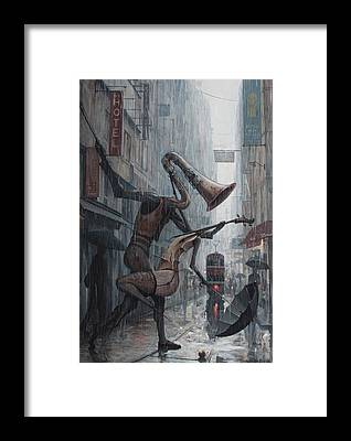 Tango Framed Prints