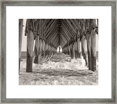Life Is Good On Topsail Scp Framed Print