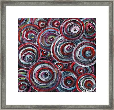Framed Print featuring the painting Life Is Good by Sladjana Lazarevic