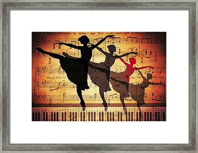 Life Is Music Framed Print