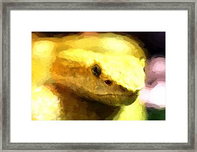 Life Is Yellow Framed Print by JC Findley