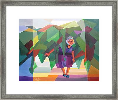 Life Framed Print by Kheir eddin Obeid