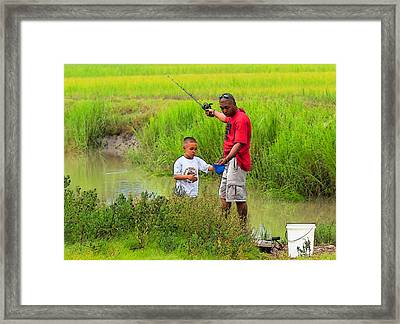 Life Lessons Framed Print by Laura Ragland