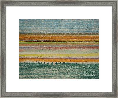 Life Lines  Framed Print by Kristine Nora