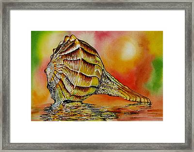 Life Lines Framed Print by Maria Barry