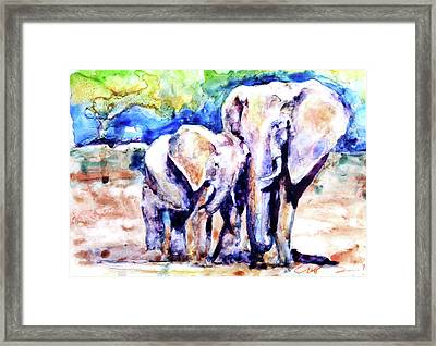 Life Long Bonds Framed Print