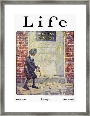 Life Magazine, 1925 Framed Print by Granger