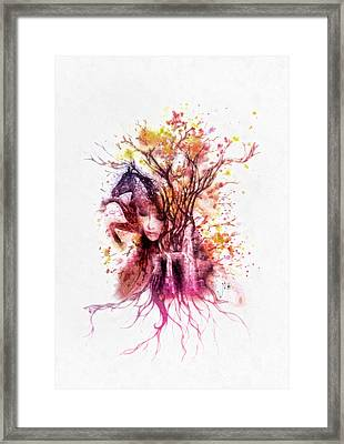Life Framed Print by Mo T