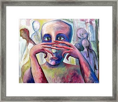 Life Of Fingers Framed Print